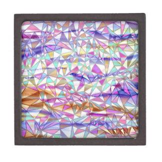 Modelo moderno del triángulo de la acuarela cajas de regalo de calidad