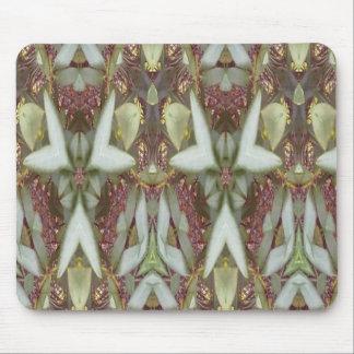 Modelo moderno extraño tapetes de raton