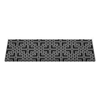 Modelo moderno geométrico gris negro impresiones en lona estiradas