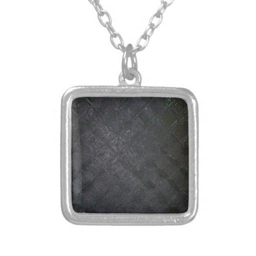 Modelo mojado negro puro del diamante (pintura del colgante cuadrado