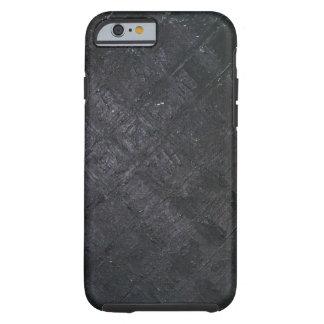 Modelo mojado negro puro del diamante (pintura) funda de iPhone 6 tough