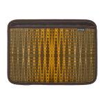 modelo moldeado del oro elegante fundas macbook air