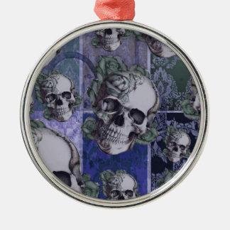 Modelo multi del cráneo del victorian azul ornamente de reyes