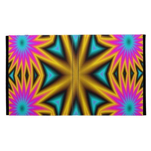 Modelo multicolor abstracto