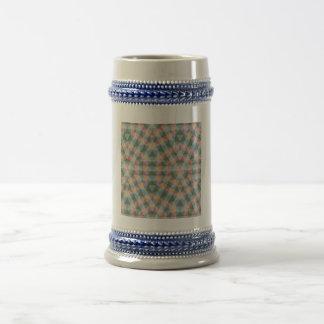 Modelo multicolor abstracto tazas de café
