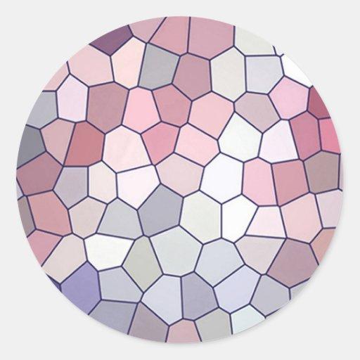 Modelo multicolor de la repetición pegatina