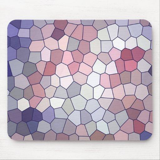 Modelo multicolor de la repetición tapete de raton