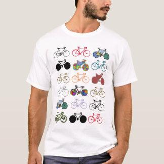 modelo multicolor de las bicicletas playera