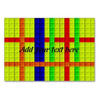 Modelo multicolor de los bloques