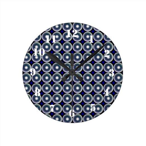 Modelo multicolor del círculo relojes