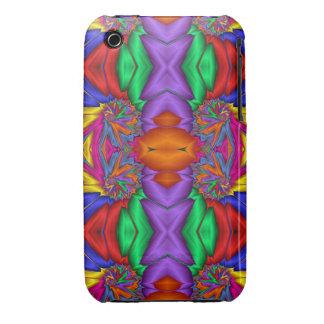 Modelo multicolor del fractal funda para iPhone 3 de Case-Mate
