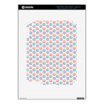 Modelo multicolor del hexágono iPad 3 pegatinas skins