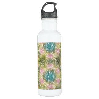 modelo multicolor extraño botella de agua
