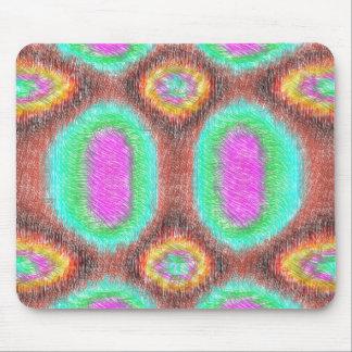 Modelo multicolor impar alfombrillas de ratón