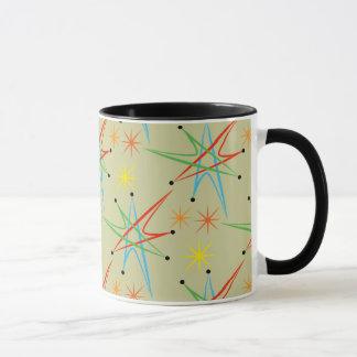 Modelo multicolor retro atómico de Starburst