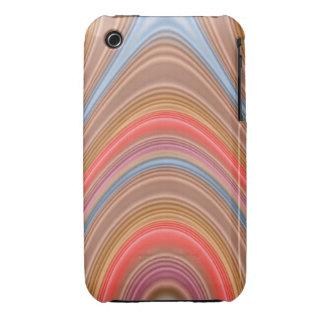 Modelo multilínea colorido iPhone 3 fundas