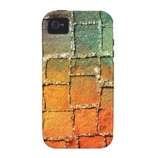 Modelo muy fresco y colorido para un fondo iPhone 4 fundas