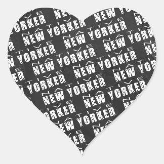 Modelo nativo del neoyorquino colcomanias corazon