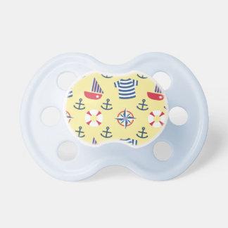 Modelo náutico del ancla del velero para los bebés chupetes de bebe