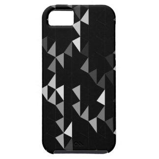 modelo negro 02 de la pirámide funda para iPhone SE/5/5s