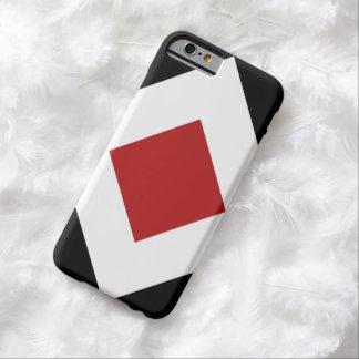 Modelo negro blanco rojo del diamante