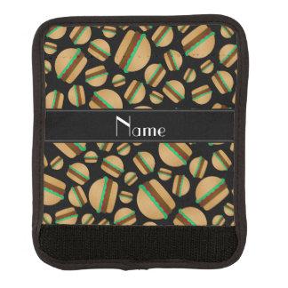 Modelo negro conocido personalizado de la cobertura para asa de maleta
