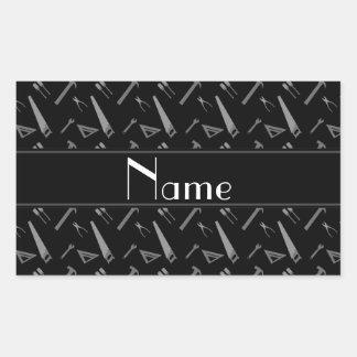 Modelo negro conocido personalizado de las herrami rectangular altavoces