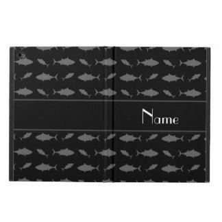 Modelo negro conocido personalizado del atún de