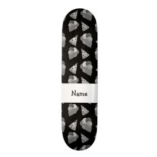 Modelo negro conocido personalizado del cumpleaños patineta personalizada