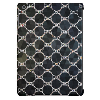 Modelo negro de Bling del ónix Funda Para iPad Air