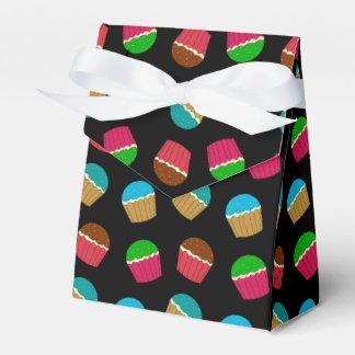 Modelo negro de la magdalena cajas para regalos de fiestas