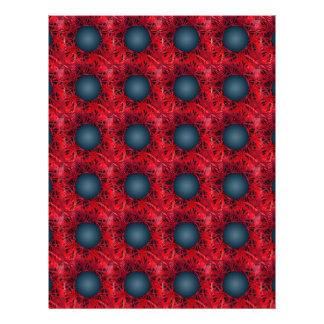 """Modelo negro de las esferas folleto 8.5"""" x 11"""""""