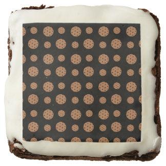 Modelo negro de las galletas de microprocesador de