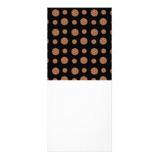 Modelo negro de las galletas de microprocesador de plantillas de lonas