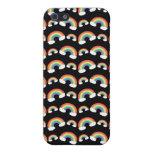 Modelo negro de los arco iris iPhone 5 carcasa