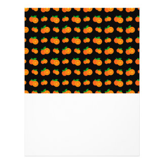 "Modelo negro de los naranjas folleto 8.5"" x 11"""