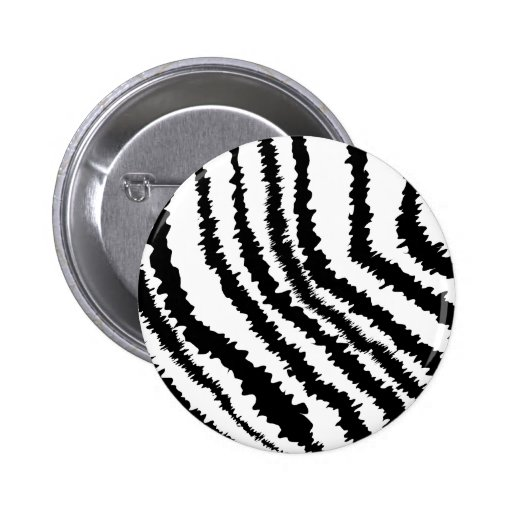 Modelo negro del estampado de zebra pin