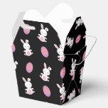 Modelo negro lindo de pascua del conejito del bebé paquetes de regalo