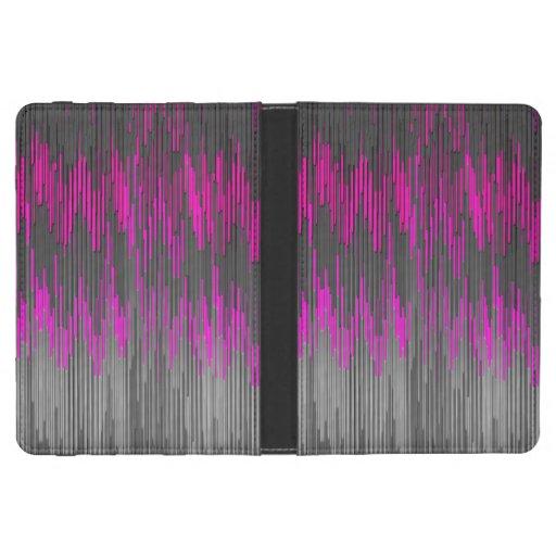 Modelo negro rosado de neón de moda de Chevron del Funda Para Kindle 4