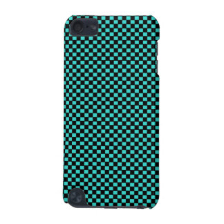 Modelo negro verde del tablero de damas