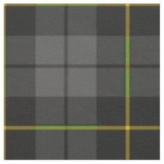 Modelo negro y amarillo del carbón de leña gris de telas