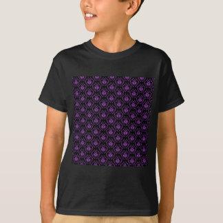 Modelo negro y púrpura del damasco. Gótico Camisas