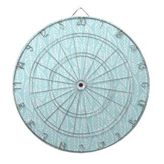 Modelo No.1 - azul de la hoja del color Tablero De Dardos