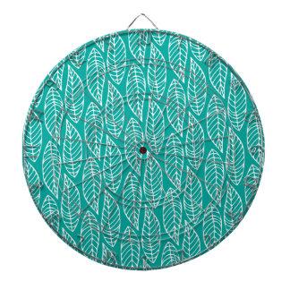Modelo No.1 - océano de la hoja del color Tablero De Dardos