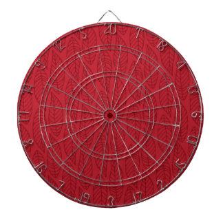 Modelo No.1 - rubí de la hoja del color Tablero Dardos