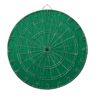 Modelo No.1 - verde de la hoja del color Tabla Dardos