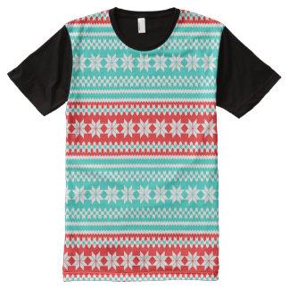 Modelo noruego del suéter del navidad de la