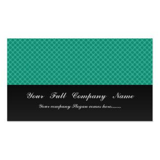 Modelo octagonal verde claro elegante en gre ásper tarjetas de visita