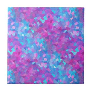 Modelo olográfico de las chispas azulejos