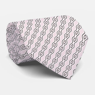 Modelo ondulado corbata personalizada